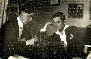 Dsida Jenő és Csengery Dsida Aladár – A Petőfi Irodalmi Múzeum fotótárának tulajdona (fotó: ismeretlen szerző)