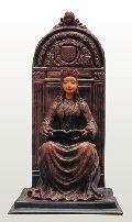 Józsa Judit: Aragóniai Beatrix királyné (1457-1508) (kerámiaszobor)