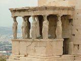 Kariatidák (Athén, Görögország)(Fotó: Konkoly-Thege György)