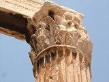 Korinthoszi oszlopfő (Athén, Görögország)(Fotó: Konkoly-Thege György)