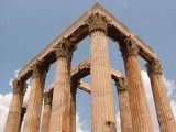 Korinthoszi oszlopok (Athén, Görögország)(Fotó: Konkoly-Thege György)