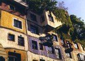 Hundertwasser-ház (Bécs, Ausztria)(Fotó: Konkoly-Thege György)