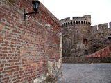 A Kalemegdán Belgrádban (Szerbia) – A nándorfehérvári                             vár)(fotó: Konkoly-Thege György)