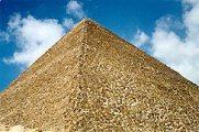 A Kheopsz piramis (Egyiptom)(fotó: Konkoly-Thege                         György)