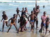 Ghánai gyerekek(fotó: Konkoly-Thege György)