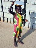 Mosolygó ghánai kisfiú(fotó: Konkoly-Thege György)