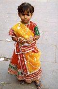 Indiai kislány(fotó: Konkoly-Thege György)