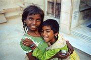 Testvérek (India)(fotó: Konkoly-Thege György)