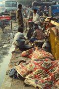 Indiai szegénység (Delhi, India)(fotó: Konkoly-Thege György)