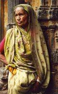 Idős indiai asszony(fotó: Konkoly-Thege György)