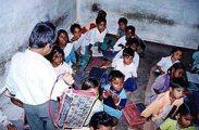 Indiai iskola(fotó: Konkoly-Thege György)