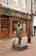 James Joyce szobra (Írország)(Fotó: Konkoly-Thege György)