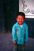Nevető kínai kisfiú(fotó: Konkoly-Thege György)