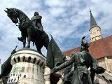Fadrusz János:A kolozsvári Mátyás-szobor (Románia)(fotó: Konkoly-Thege                         György)