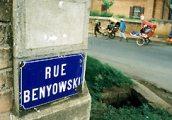 A Benyovszky Móric utca, Andsirabeé (Madagaszkár)(fotó:                             Konkoly-Thege György)