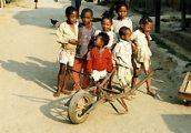 Madagaszkári gyerekek(fotó: Konkoly-Thege György)
