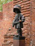 Varsói szobor  (Lengyelország)(Fotó: Konkoly-Thege György)