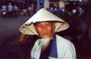 Idős vietnámi férfi(fotó: Konkoly-Thege György)