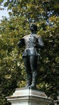 Balassi Bálint szobra - Budapest, Kodály körönd (Fotó: Legeza Dénes                         István)