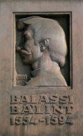 Balassi Bálint emléktáblája - Budapest, Balassi Bálint utca (Fotó: Legeza Dénes István)