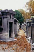 Pére Lachaise temető - Párizs, Franciaország (Fotó: Legeza Dénes                     István)