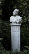 Bartók Béla mellszobra - Budapest, Margitsziget (Fotó: Legeza Dénes István)