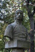 Csokonai Vitéz Mihály mellszobra - Budapest, Margitsziget (Fotó: Legeza Dénes István)