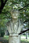 Erkel Ferenc mellszobra - Budapest, Margitsziget (Fotó: Legeza Dénes István)
