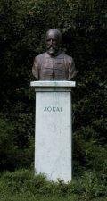 Jókai Mór mellszobra - Budapest, Margitsziget (Fotó: Legeza Dénes István)