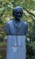 Kodály Zoltán mellszobra - Budapest, Margitsziget (Fotó: Legeza Dénes István)
