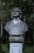 Liszt Ferenc mellszobra - Budapest, Margitsziget (Fotó: Legeza Dénes István)