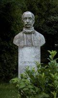 Vörösmarty Mihály mellszobra - Budapest, Margitsziget (Fotó: Legeza Dénes István)