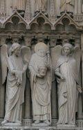 Szent Dénes püspök és vértanú - Párizs, Notre Dame (Fotó: Legeza Dénes István)