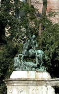 Szent György szobra - Budapest, Halászbástya (Fotó: Legeza Dénes István)