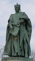 II. András király - Budapest, Milleniumi emlékmű (Fotó: Legeza Dénes István)