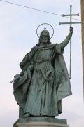 Szent István - Budapest, Milleniumi emlékmű (Fotó: Legeza Dénes István)