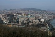 Budai látkép - Budapest, Gellérthegy (Fotó: Legeza Dénes István)
