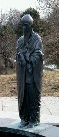 Wágner Nándor: A filozófusok kertje - Buddha / Budapest, Gellérthegy (Fotó: Legeza Dénes István)