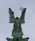 Gábor arkangyal - Budapest, Milleniumi emlékmű (Fotó: Legeza Dénes István)