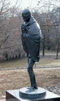 Wágner Nándor: A filozófusok kertje - Mahatma Ghandi / Budapest, Gellérthegy (Fotó: Legeza Dénes István)