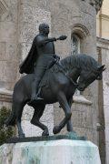 Pátzay Pál: Hunyadi János lovasszobra - Budapest, Vajdahunyadvár (Fotó: Legeza Dénes István)