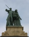 Munka és Jólét - Budapest, Milleniumi emlékmű (Fotó: Legeza Dénes István)
