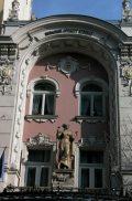 Operettszínház, homlokzat részlete - Budapest (Fotó: Legeza Dénes István)