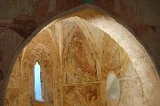 Az apszis részlete; Velemér – templom (fotó: Török Máté)