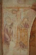 Freskórészlet; Velemér – templom (fotó: Török Máté)