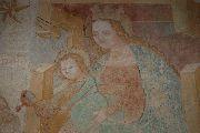 Istenanya – freskórészlet;  Velemér – templom (fotó: Török Máté)