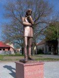 Csokonai Vitéz Mihály szobra - Révkomárom (Fotó: Vimola                     Ágnes)