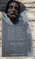 Kós Károly emléktábla Révkomáromban (Fotó: Vimola Ágnes)