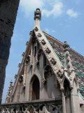 A Mátyás-templom részlete (fotó: Vimola Ágnes)