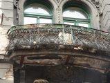Díszes erkélyrács(fotó: Vimola Ágnes)